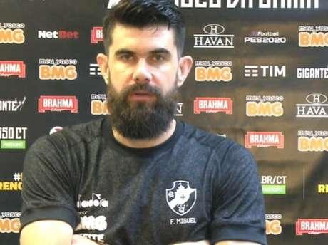 Fernando Miguel foi o grande destaque do Vasco no empate com o Fortaleza por 0 a 0 (Reprodução / VascoTV)