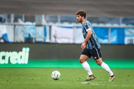 Lucas Silva estará em campo neste domingo para enfrentar o Corinthians (Foto: Lucas Uebel/Grêmio)