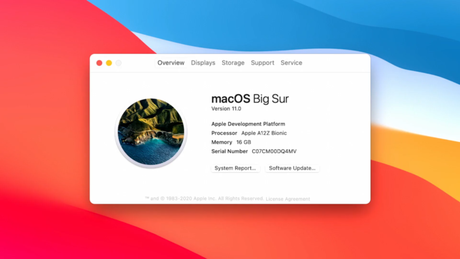 macOS Big Sur rodando em ARM (Imagem: Divulgação/Apple)
