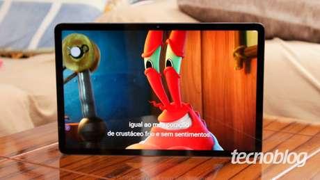Galaxy Tab S7 (imagem: Emerson Alecrim/Tecnoblog)