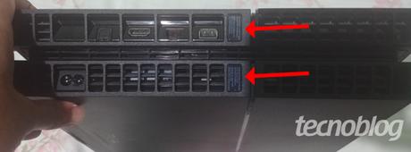 Lacre de segurança PS4 (Imagem: André Leonardo / Tecnoblog)