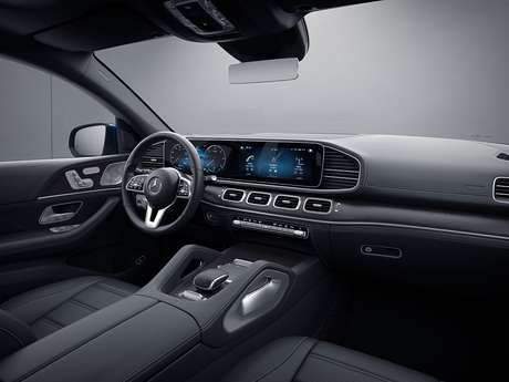 Interior do Mercedes-Benz GLE Coupé, que pode ser encomendado por R$ 675.900.