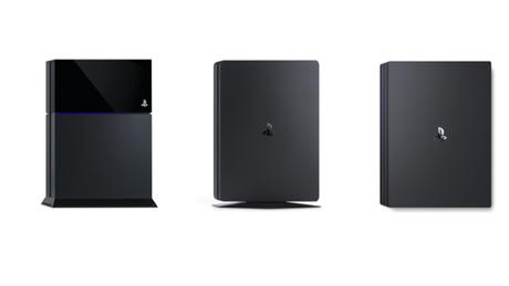 PS4, PS4 Slim, PS4 Pro (Imagem: Divulgação / Sony)
