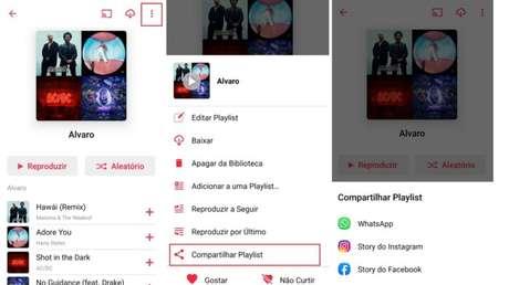 Compartilhe suas Playlists no Apple Music (Imagem: Reprodução / Apple Music)