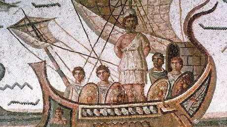 Odisseu demorou 10 anos para voltar para casa após a vitória na Guerra de Tróia