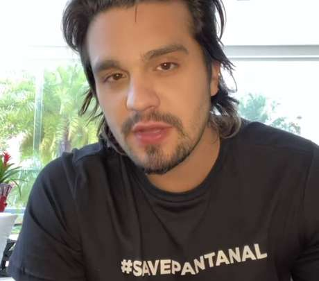 O cantorLuan Santana, que fará live no Pantanal neste domingo