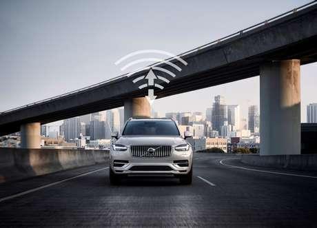 Volvo e China Unicom trabalham no desenvolvimento de tecnologia de comunicação 5G na China (Imagem: Divulgação/Volvo)