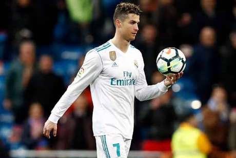 Cristiano Ronaldo é ídolo no Real Madrid (Foto: Reprodução/Real Madrid)