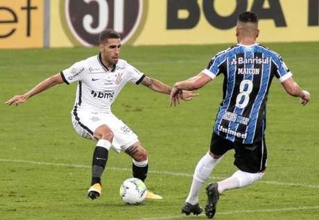 Corinthians e Grêmio já se enfrentaram no primeiro turno do Brasileirão-2020 (Foto: Rodrigo Coca/Ag. Corinthians)
