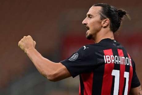 Ibrahimovic vive grande fase no Milan (Foto: MIGUEL MEDINA / AFP)