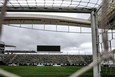 Corinthians e Caixa pediram mais uma vez a suspensão da execução da dívida(Foto: Reprodução/Twitter Corinthians)