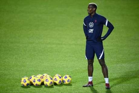 Pogba se destacou na seleção francesa (Foto: FRANCK FIFE / POOL / AFP)