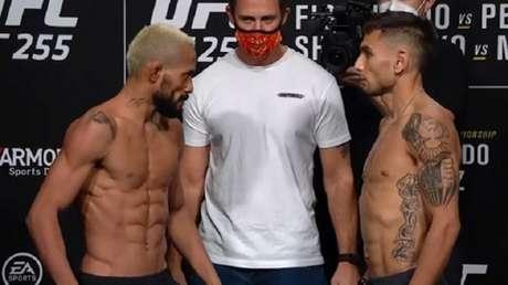 Deiveson defenderá seu título contra o americano Alex Perez na luta principal (Foto: Reprodução/YouTube/UFC)