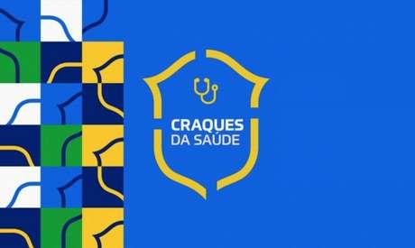 Iniciativa 'Craques da Saúde', da CBF, doará ambulâncias em jogos do Brasileirão Assaí (Foto: Divulgação/CBF)