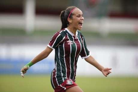 Letícia marcou o único gol da partida (Foto: Divulgação/Fluminense FC)