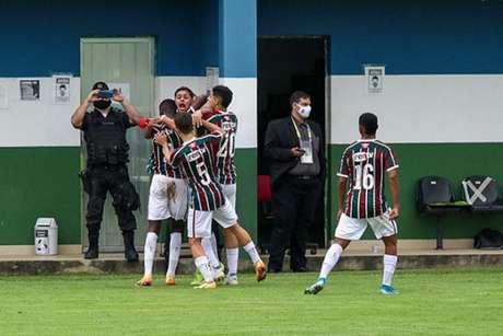 Fluminense bateu o Vasco pelo Sub-17 (Foto: Beto Junior / Divulgação)