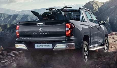 Peugeot Landtrek terá capacidade de carregar entre 1.050 e 1.150 kg de carga, dependendo da versão.