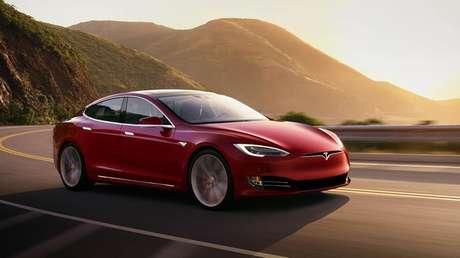 Tesla Model S (imagem: divulgação/Tesla)