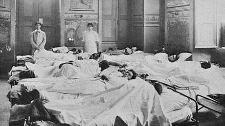 No Rio de Janeiro, onde o Demerara atracou no dia 15 de setembro de 1918, faltaram leitos para atender a tantos doentes e coveiros para sepultar tantos cadáveres