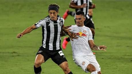 'É questão de confiar. É um momento de estarmos todos juntos, as coisas vão mudar', diz Emiliano Díaz, auxiliar-técnico do Glorioso (Thiago Ribeiro/Botafogo)