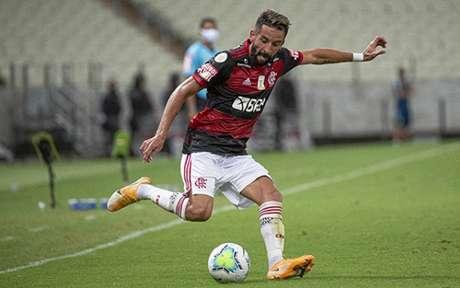 Isla tem 17 jogos pelo Flamengo (Alexandre Vidal/Flamengo)