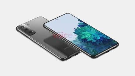 Possível Samsung Galaxy S21 (Imagem: Reprodução/Steve Hemmerstoffer)