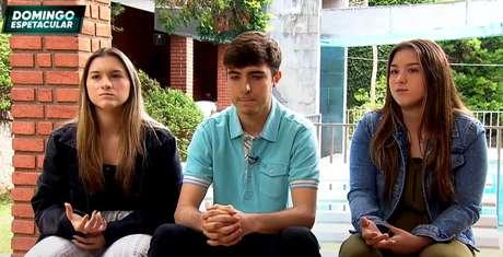 Os três filhos de Gugu Liberato, Marina, João Augusto e Sofia, falaram sobre a morte do pai