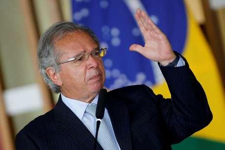 Ministro da Economia, Paulo Guedes, participa de evento no Itamaraty 20/10/2020 REUTERS/Adriano Machado