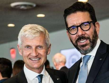 O presidente Andrea Illy e o CEO Massimiliano Pogliani