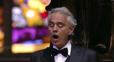Concerto de Bocelli na Páscoa em Milão