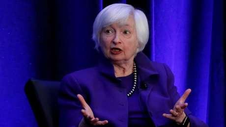 Uma das expectativas é de que Janet Yellen, ex-presidente do Fed, seja escolhida por Biden para comandar a economia dos EUA