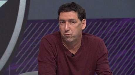 PVC é comentarista do Grupo Globo (Foto: Reprodução/SporTV)