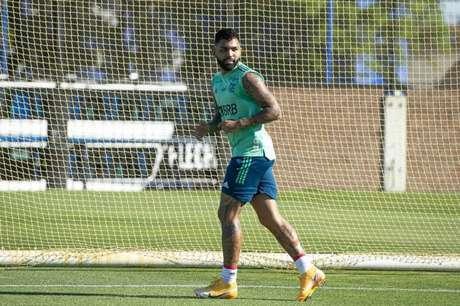 De volta, Gabigol pode formar setor ofensivo com BH27, Everton Ribeiro e Arrascaeta (F: Alexandre Vidal/Flamengo)