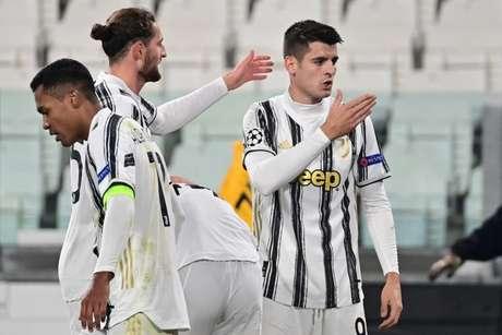 Em boa fase, Morata foi crucial mais uma vez para a Juventus (Foto: MIGUEL MEDINA / AFP)
