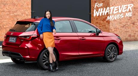 """Novo City Hatchback é """"para qualquer movimento"""", segundo a Honda."""