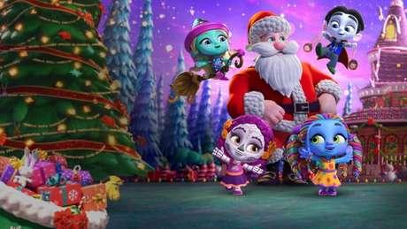 Super Monstros: Ajudando o Papai Noel entra na Netflix em dezembro (Imagem: Divulgação/Netflix)