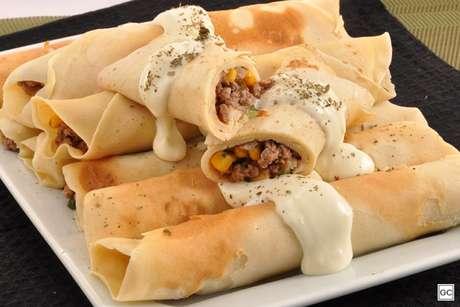 Guia da Cozinha - Panqueca de carne: 7 receitas para saborear