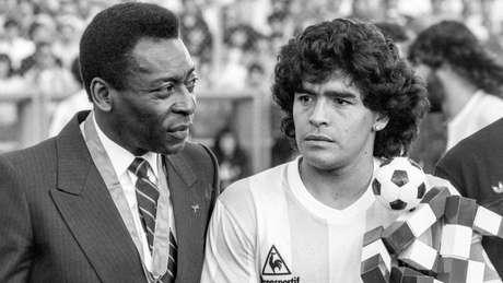 Estudiosos da história do futebol divergem sobre as origens da rivalidade entre Pelé e Maradona