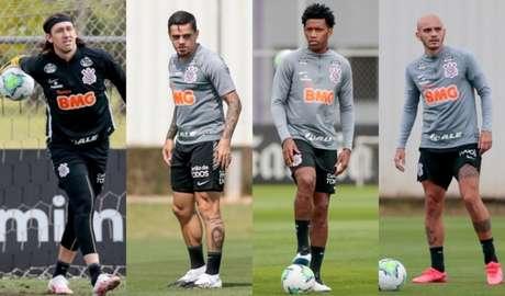 Líderes do elenco podem ser fundamentais no restante do Brasileirão (Foto: Montagem/Ag. Corinthians)