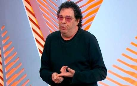 Casão se emocionou ao falar de Maradona (Foto: Reprodução/TV Globo)