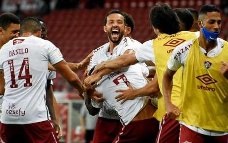 Fluminense faz boa campanha e sonha com a Copa Libertadores 2021 (Foto: MAILSON SANTANA/FLUMINENSE FC)