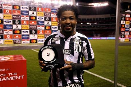 Marinho foi eleito o craque da partida (Foto: Staff images /CONMEBOL)