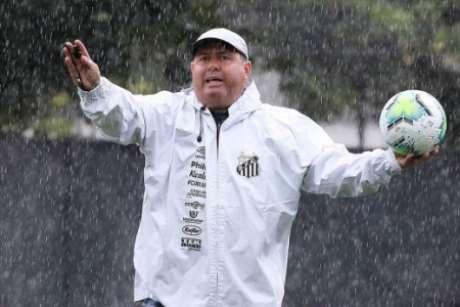 Marcelo Fernandes rasgou elogios ao grupo do Santos (Foto: Ivan Storti/Santos FC)