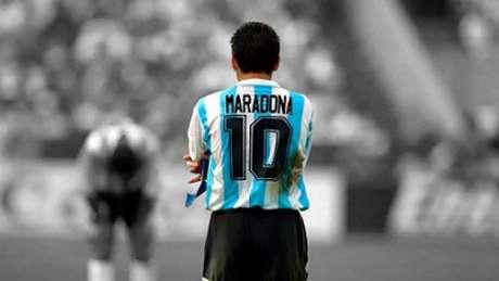 Maradona foi exaltado pelos clubes de Minas em um dia trste para o futebol-(Reprodução/Twitter)