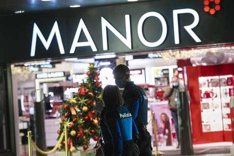 Ataque ocorreu em unidade da Manor, maior rede de lojas de departamento da Suíça