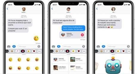iMessage no iPhone (Imagem: Divulgação/Apple)