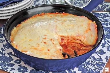 Guia da Cozinha - Lasanhas de frigideira para refeições mais práticas