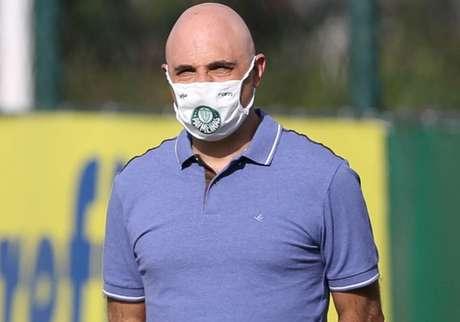 Mauricio Galiotte ficará como presidente até dezembro de 2021 (Foto: César Greco/Ag. Palmeiras)