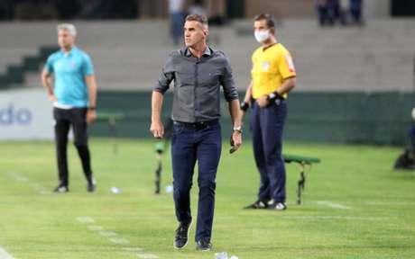 Mancini gostou do time (Foto: Rodrigo Coca/Agência Corinthians)