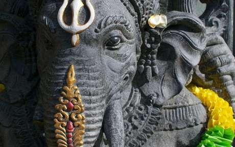 Ganesha é o deus que abre os caminhos -